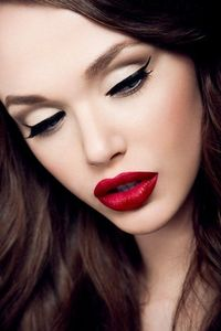 Hot Red Lipstick