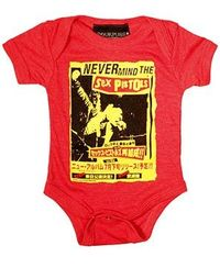Never Mind the Sex Pistols Red Heather One Piece