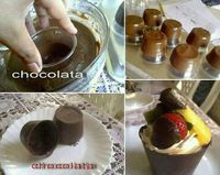 How To Mold Bowls and Cups With Chocolate