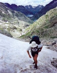 What is what like hiking in June to Emerald Lake, Rocky Mountain National Park, CO...over snow!