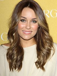 Lauren Conrad brunette CoverGirl 50th anniversary party