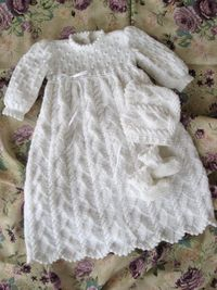 Ocean Breeze Christening Gown and Ensemble