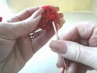 Learn how to crochet an adorable ladybug for the spring season. This can be a cute decoration during the spring months or you can use it as a gift topper.