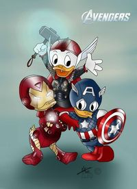 Disney - The Avengers by ~Miss-Arole