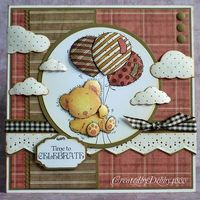A Scrapjourney: Patchwork Bear