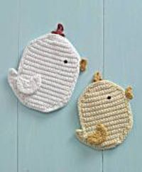 Chickadee Potholder