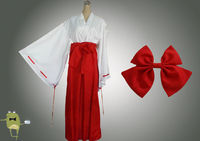 Inuyasha Kikyo Cosplay Costume Outfit for Sale