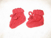 "Ruth's ""Perfect"" Baby Booties"