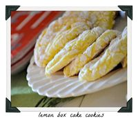 Fancy Frugal Life: Lemon Box Cake Cookies