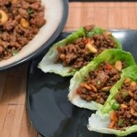 Chinese Pork Lettuce Wraps by MrsEllwood