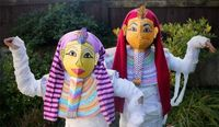 Pharaoh's Mummy Costume DIY for Halloween | Alphamom