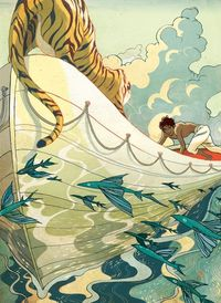 Victo Ngai - Life of Pi and a Grenade Perfume