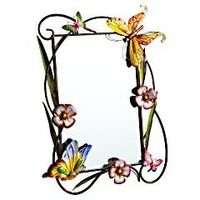 Butterfly & Flower Mirror