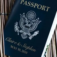 Passport Destination Wedding Invitations