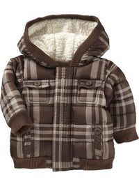 Old Navy | Plaid Frost Free Jackets for Baby