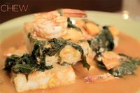 Carla Hall's Swamp Thing: Shrimp and Grits Recipe #thechew