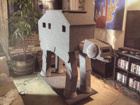 I now want a cat just so I can build it an at-at cat condo.