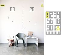 PONG RE-STICK wall graphic