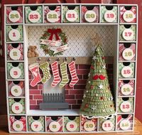 Debbie Carriere, Scrappin' My Heart Out: Christmas Countdown...MFT