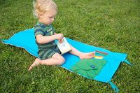 Outdoor Reading & Craft Mat for Kids