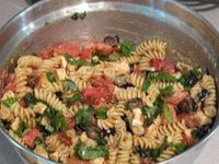 ina garten's pasta salad. delicious summer staple.