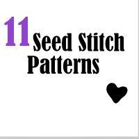 11 Free Knit Patterns in Seed Stitch from